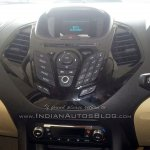 2015 Ford Figo Aspire center console spotted in dealership for first time