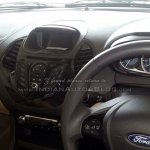 2015 Ford Figo Aspire interior spotted in dealership for first time