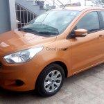 2015 Ford Figo hatchback India spied