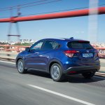 2015 Honda HR-V rear three quarter (1) features, variants and prices released in United Kingdom
