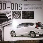 2015 Honda Jazz India accessories