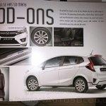 2015 Honda Jazz India accessories