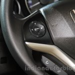 2015 Honda Jazz steering controls India launch