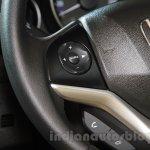 2015 Honda Jazz steering controls India launch