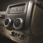 2015 Mahindra Thar facelift center console press shots
