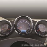 2015 Mahindra Thar facelift cluster press shots