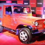 2015 Mahindra Thar facelift front quarter