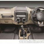2015 Mahindra Thar facelift interior press shots