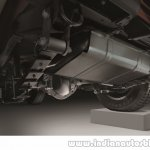 2015 Mahindra Thar facelift rear differential press shots