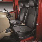 2015 Mahindra Thar facelift seats press shots