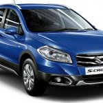 2015 Maruti S-Cross front three quarter press image