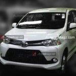 2015 Toyota Avanza Veloz facelift spied