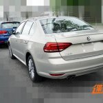 2015 Volkswagen Lavida facelift rear three quarter revealed in images