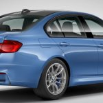 2016 BMW M3 facelift rear three quarter online configurator