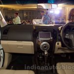2016 Chevrolet Trailblazer dashboard unveiled in Delhi