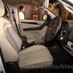 2016 Chevrolet Trailblazer front cabin unveiled in Delhi
