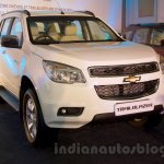 2016 Chevrolet Trailblazer front quarter unveiled in Delhi