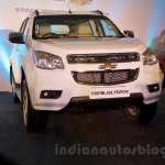 2016 Chevrolet Trailblazer front unveiled in Delhi