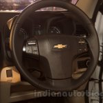 2016 Chevrolet Trailblazer steering wheel unveiled in Delhi