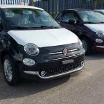2016 Fiat 500 facelift exterior revealed