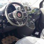 2016 Fiat 500 facelift interior revealed