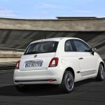 2016 Fiat 500 (facelift) rear quarter (1) unveiled
