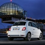 2016 Fiat 500 (facelift) rear quarter unveiled