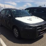 2016 Fiat Aegea front three quarter spotted in Strasbourg