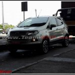 2016 Ford EcoSport front India spied