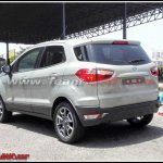 2016 Ford EcoSport rear India spied