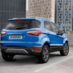 2016 Ford EcoSport rear press image (UK specification)