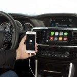 2016 Honda Accord facelift CarPlay press shots