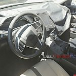2016 Honda Civic steering spied