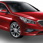 2016 Hyundai Sonata diesel front three quarter press image