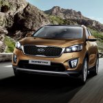 2016 Kia Sorento front quarter launched in South Africa
