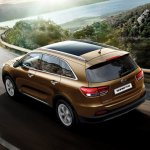 2016 Kia Sorento rear three quarter launched in South Africa