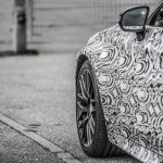 2016 Mercedes C63 AMG Coupe front fender teased