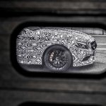 2016 Mercedes C63 AMG Coupe front wing teased
