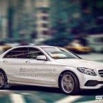 2016 Mercedes E Class (W213) front three quarter IAB Rendering