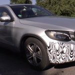 2016 Mercedes GLC Coupe front three quarter spotted for first time