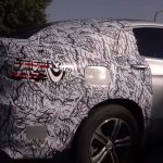 2016 Mercedes GLC Coupe rear three quarter spotted for first time