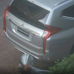 2016 Mitsubishi Pajero Sport revealed rear