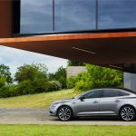 2016 Renault Talisman rear three quarter (1) unveiled