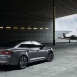 2016 Renault Talisman rear three quarter unveiled