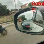 2016 Skoda Superb front India spied