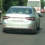 2016 Skoda Superb spied Pune India