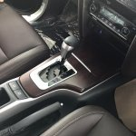 2016 Toyota Fortuner automatic tranmission on the showroom floor post unveil