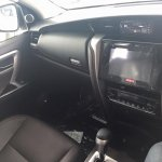2016 Toyota Fortuner dashboard on the showroom floor post unveil