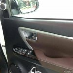 2016 Toyota Fortuner door card spyshot from Thailand