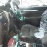 2016 Toyota Fortuner driver seat spied